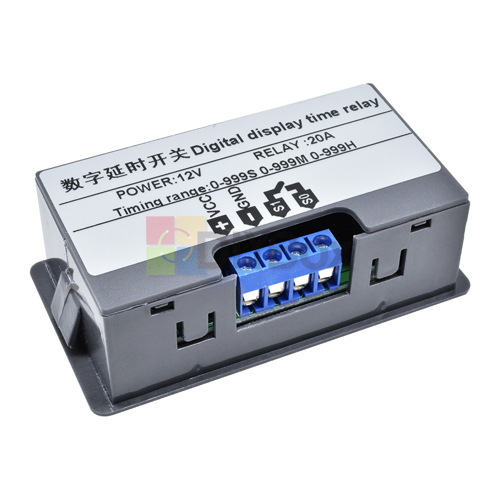 12V-Digital-Dual-LED-Delay-Relay-Automation-Cycle-Timer-Control-Switch-Module thumbnail 9