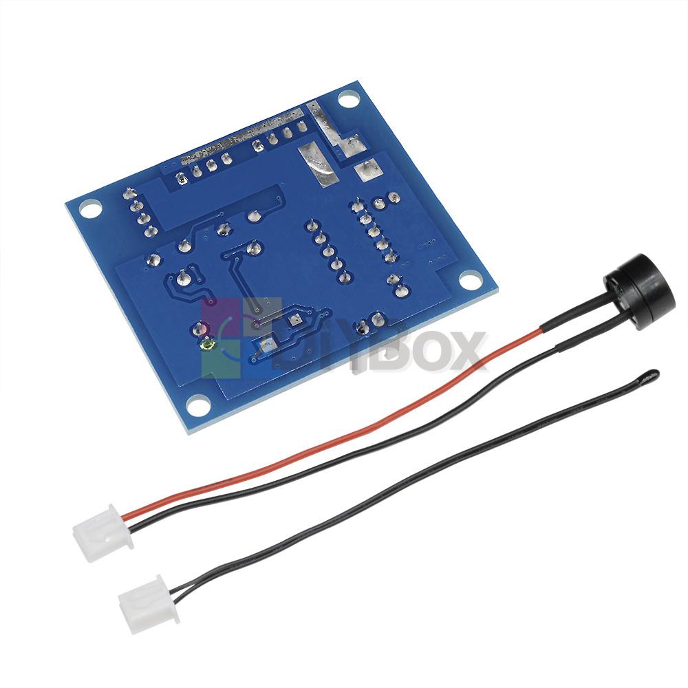 Details about 12V PWM PC CPU Fan Temperature Control Speed Controller  Module High-Temp Alarm