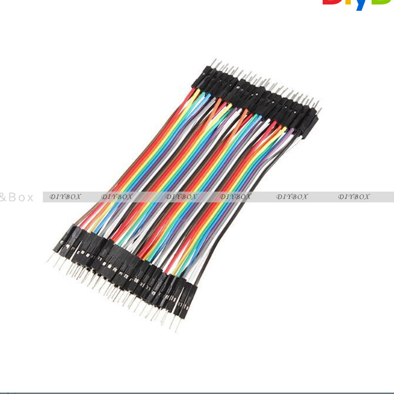 10-20CM-Multi-Dupont-Male-to-Female-Breadboard-Jumper-Wire-Raspberry-Pi-Arduino thumbnail 29