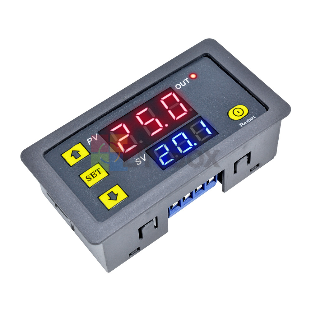 12V-Digital-Dual-LED-Delay-Relay-Automation-Cycle-Timer-Control-Switch-Module thumbnail 3