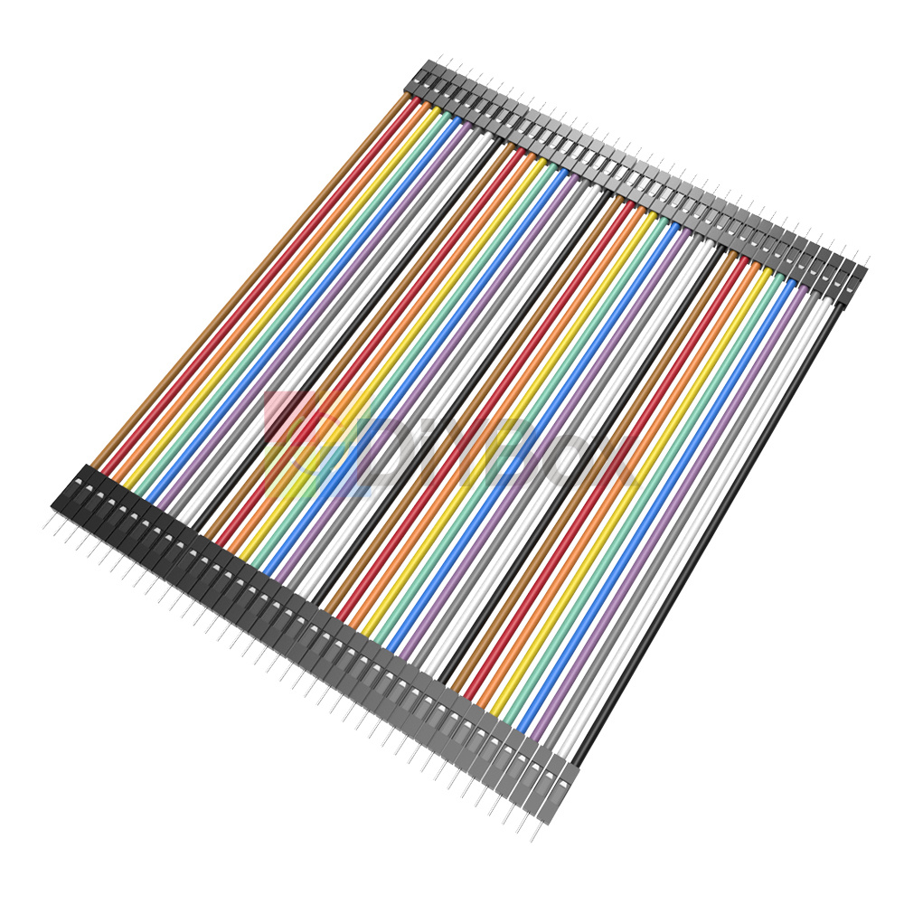 10-20CM-Multi-Dupont-Male-to-Female-Breadboard-Jumper-Wire-Raspberry-Pi-Arduino thumbnail 25