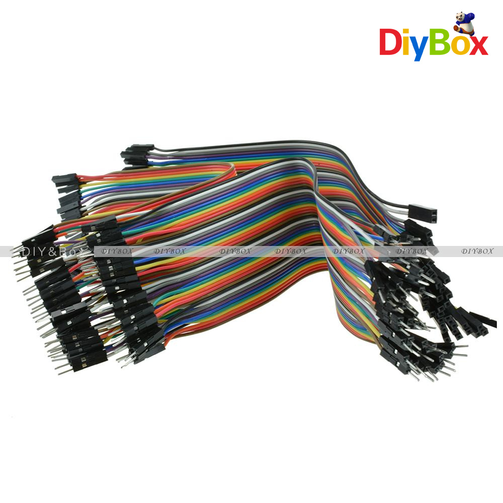10-20CM-Multi-Dupont-Male-to-Female-Breadboard-Jumper-Wire-Raspberry-Pi-Arduino thumbnail 46