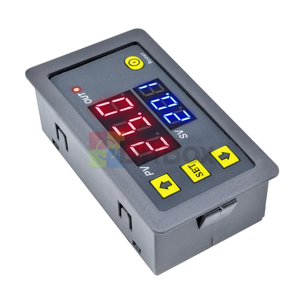 12V-Digital-Dual-LED-Delay-Relay-Automation-Cycle-Timer-Control-Switch-Module thumbnail 6