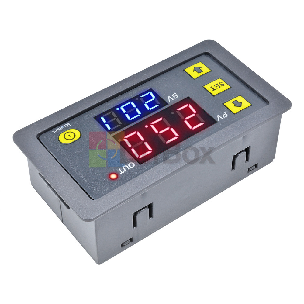 12V-Digital-Dual-LED-Delay-Relay-Automation-Cycle-Timer-Control-Switch-Module thumbnail 5