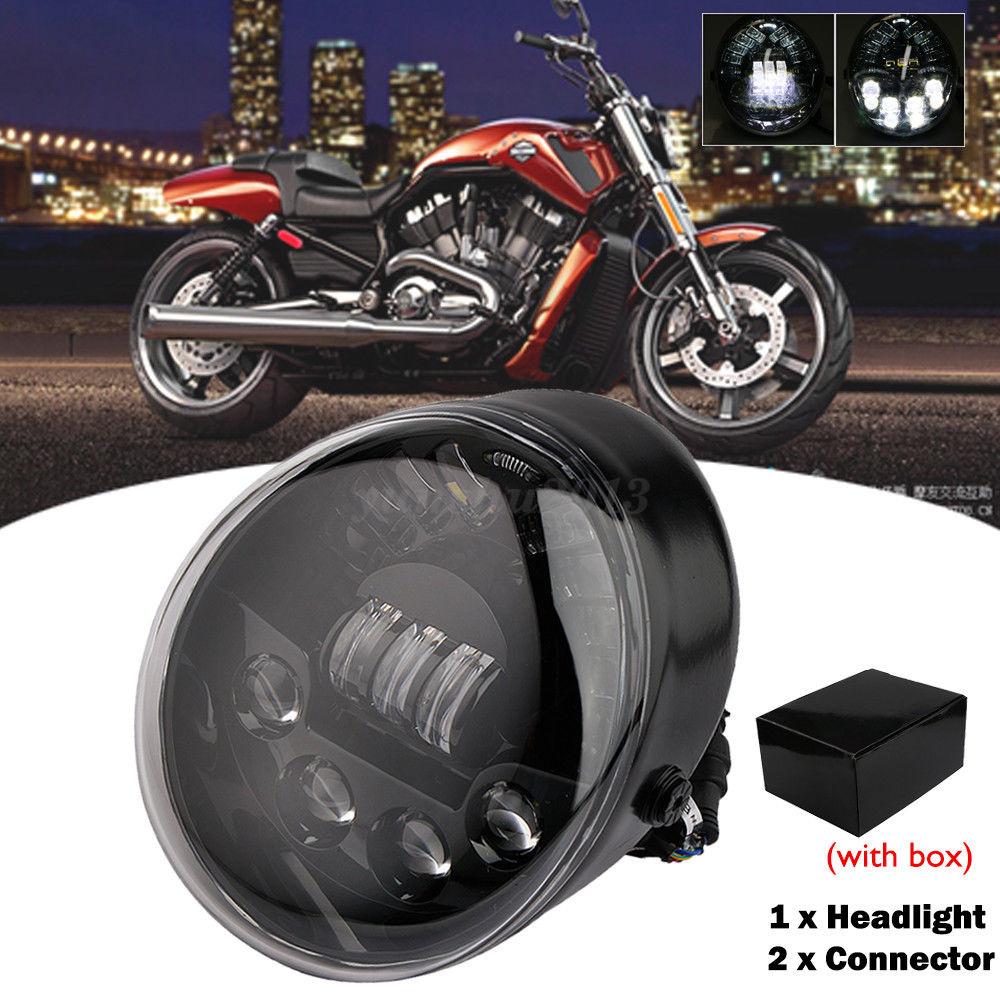 Drag 2040-2131 Black Smoke Lens LED Handlebar Marker Lights 09-17 Harley FL VROD