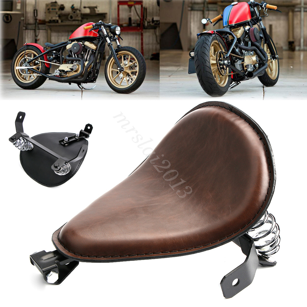 Solo Sitz Sitzfedern Montage Halter Für Harley Sportster Chopper Bobber Custom