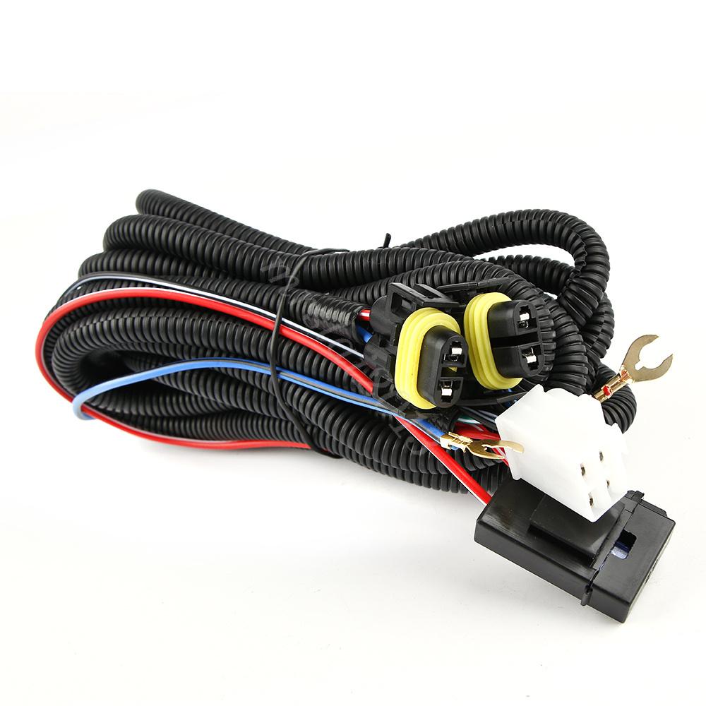 Switch 12v 40a Relay Wiring Harness Work Fog Light Bar Kit
