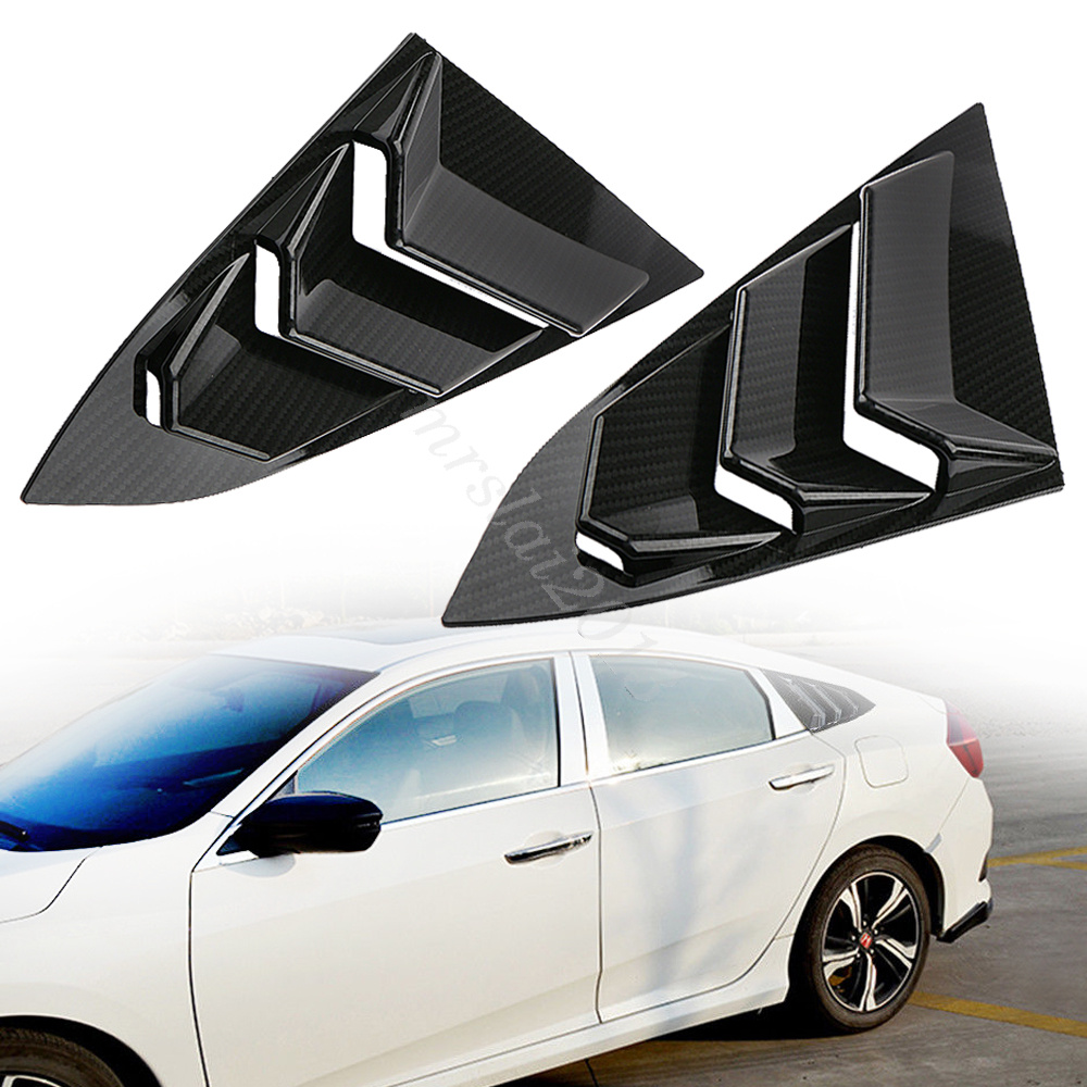 For 1996-2002 Mitsubishi Mirage-Rear Window Roof Spoiler Unpainted-978 99 00 01