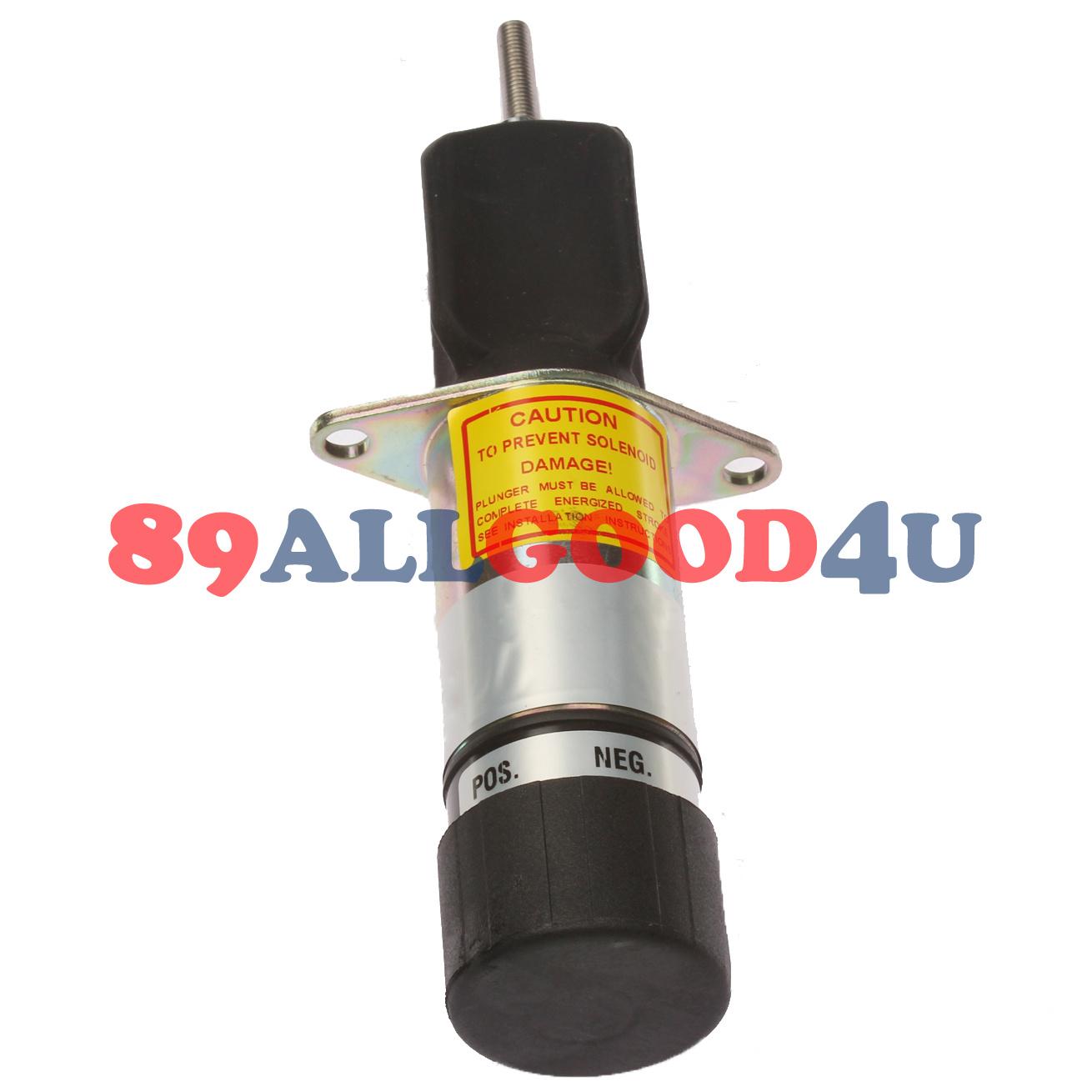 307-2758 Stop Solenoid 12V For ONAN P216G P218G P220G P224G OL16 OL18 OL20