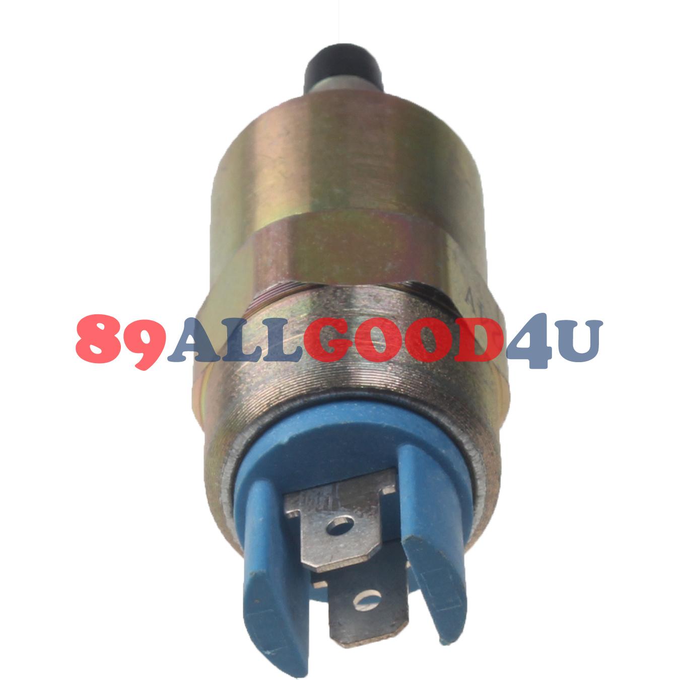 24V shutoff solenoid 7185-900P 71800-049D for Delphi DP200 Pump Lucas CAV