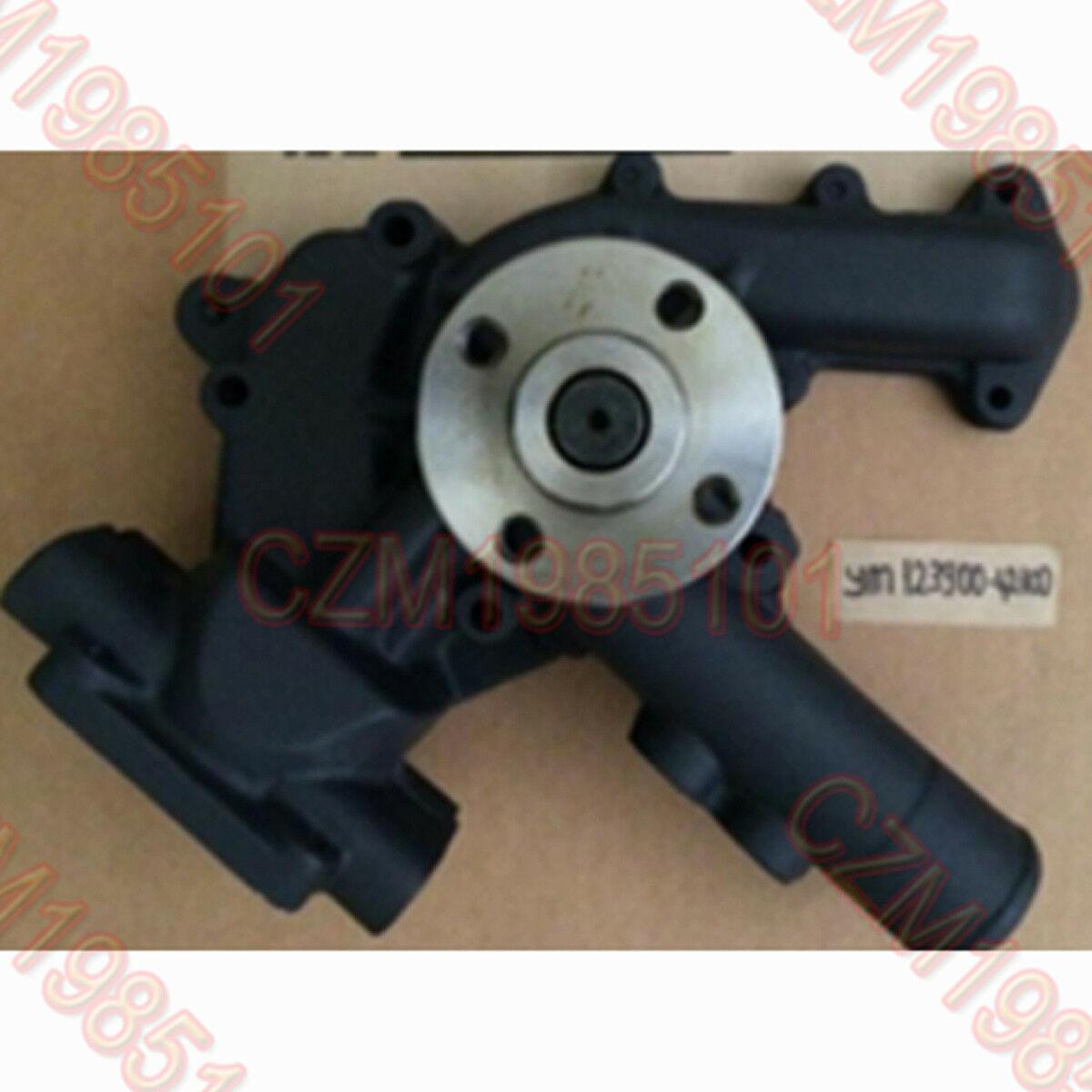 New Water Pump YM123900-42100 YM123900-42101 for Komatsu WB97S-2 WB140-2 WA115-3