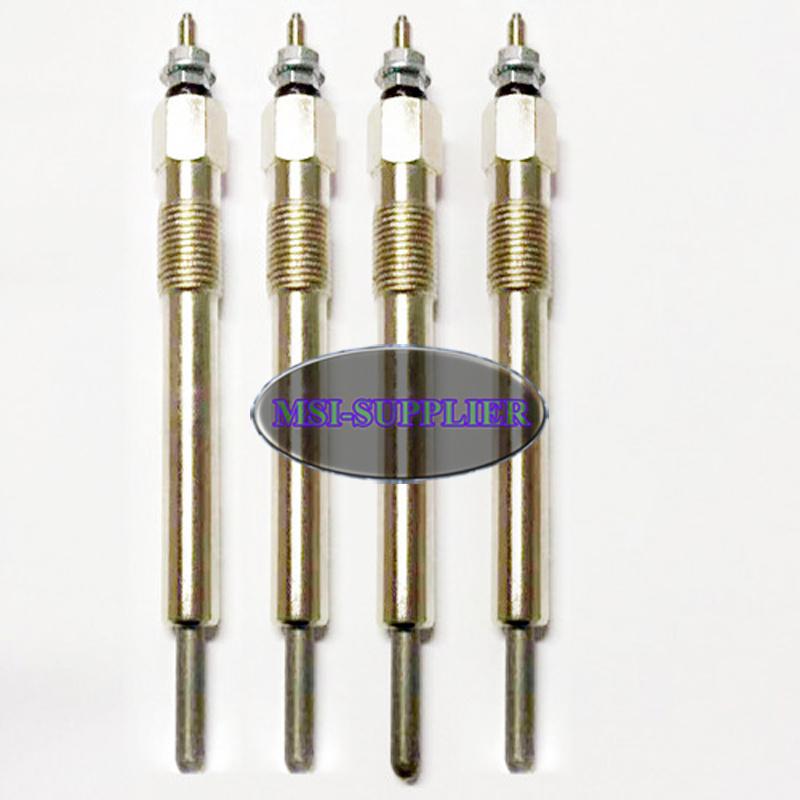 4 PCS Glow Plug for New Holland LS170 L175 L465 L565 LX465 LX485 LX565 LX665