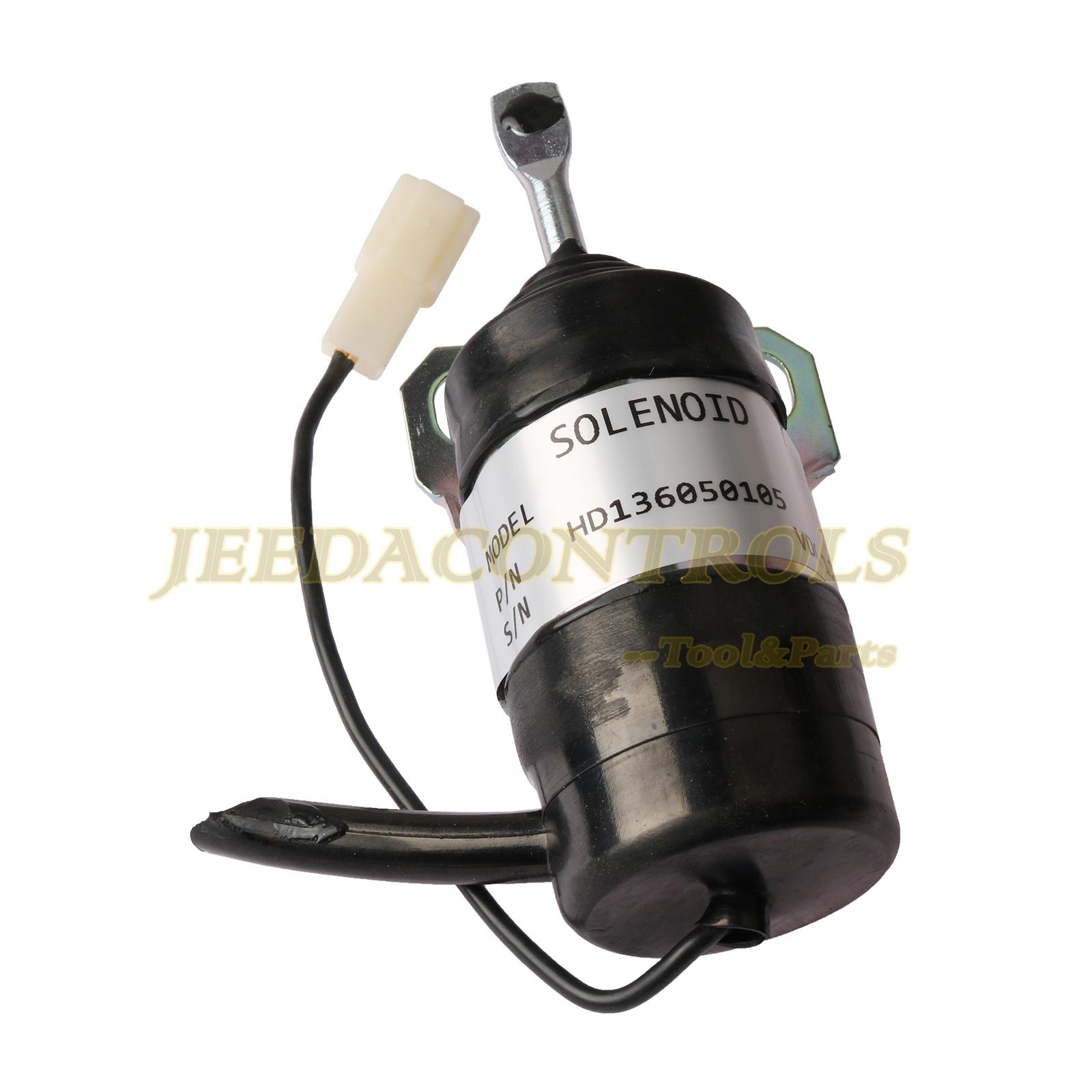 15471-60010 Stop Solenoid Shut Off B1250 fits Kubota B1750 L2900 L4200 M4900 B20