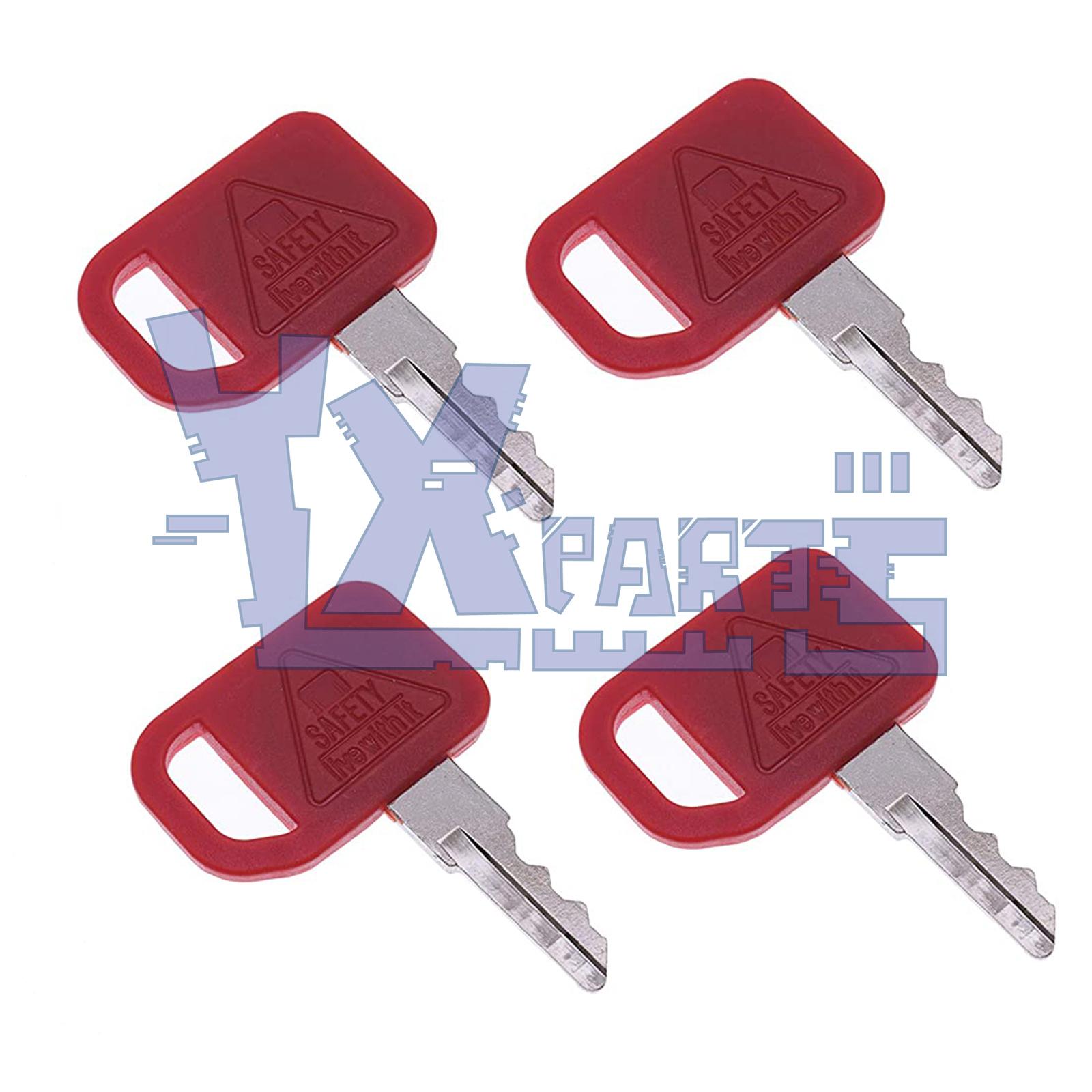 5 Ignition Keys fits John Deere Skid Steer 240 250 260 270 325 T209428