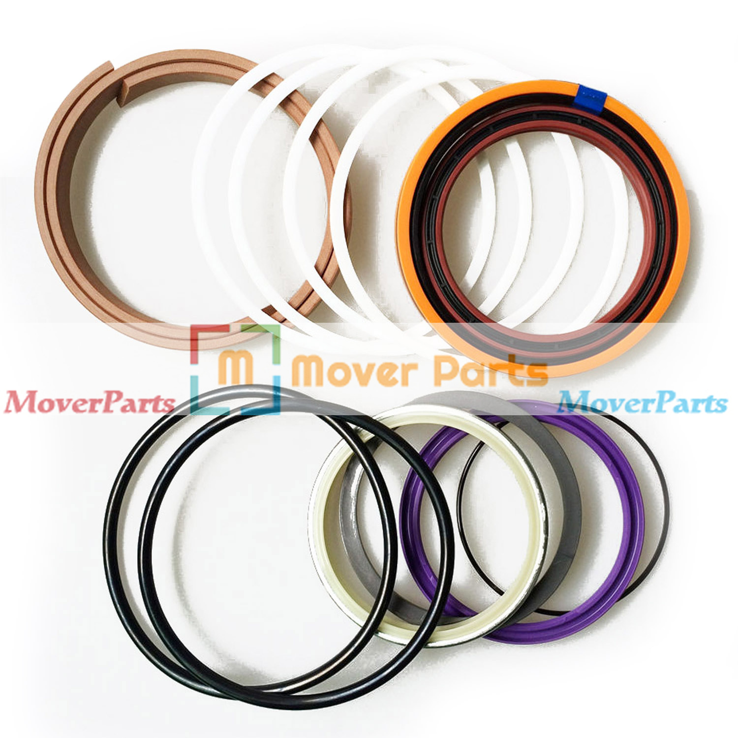 Arm Cylinder Seal Kit for Caterpillar Excavator CAT E110B E120B