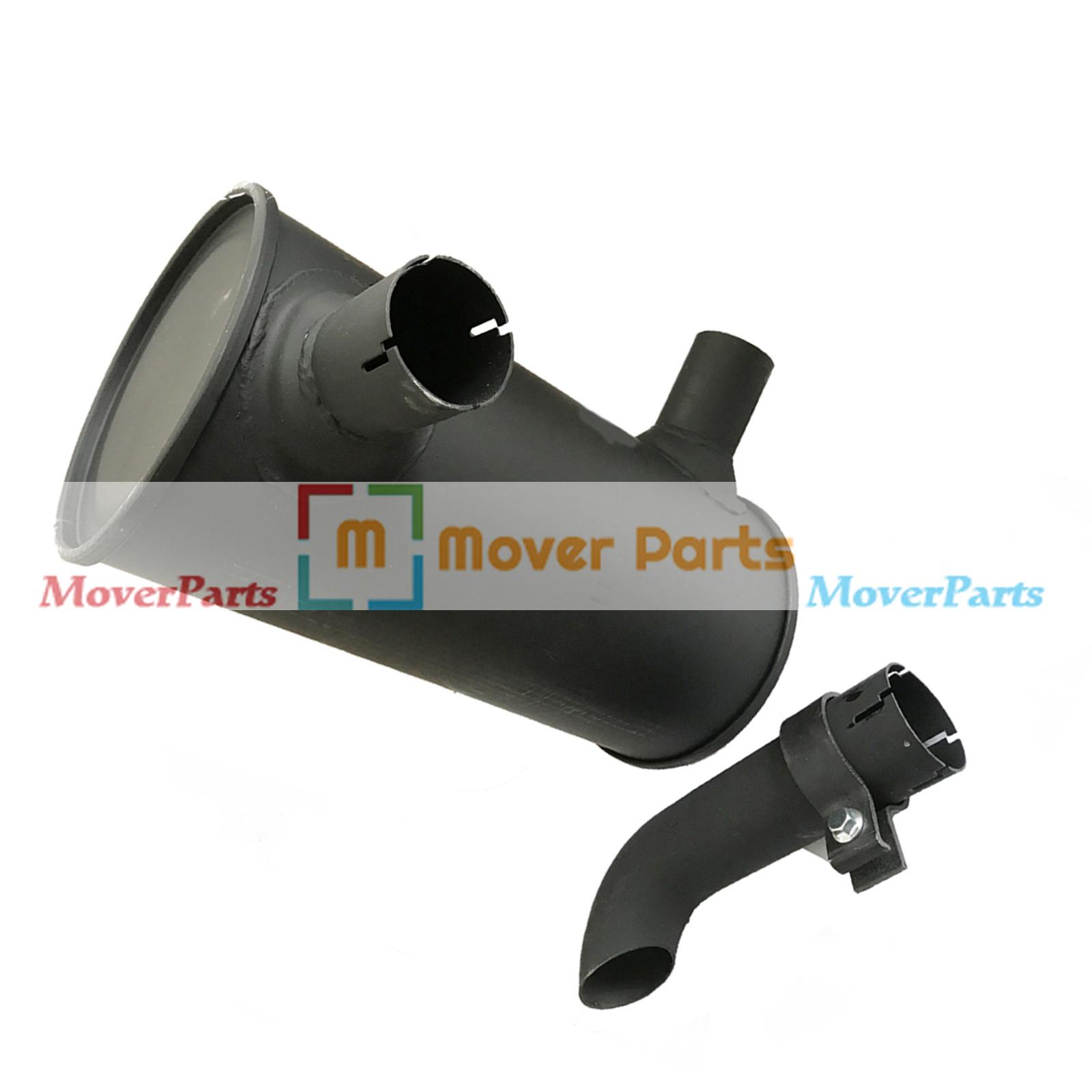 Muffler 6205-11-5320 for Komatsu PC100-6 PC120-6 PC130-6 Engine S4D95L-1