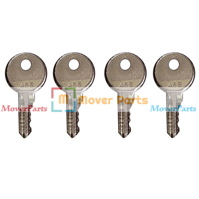 4 Ignition Keys 21982 21982GT for Genie Lift GS-1530 GS-1930 GS-2046 GS-3246 GS-4390 GS-5390 S-40 S-60 Z-20//8 Z-34//22N Z-45//25J Z-60//34