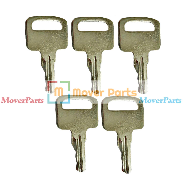 4 Ignition Keys 455 key 104466 for Skyjack Genie JLG Snorkel Parts