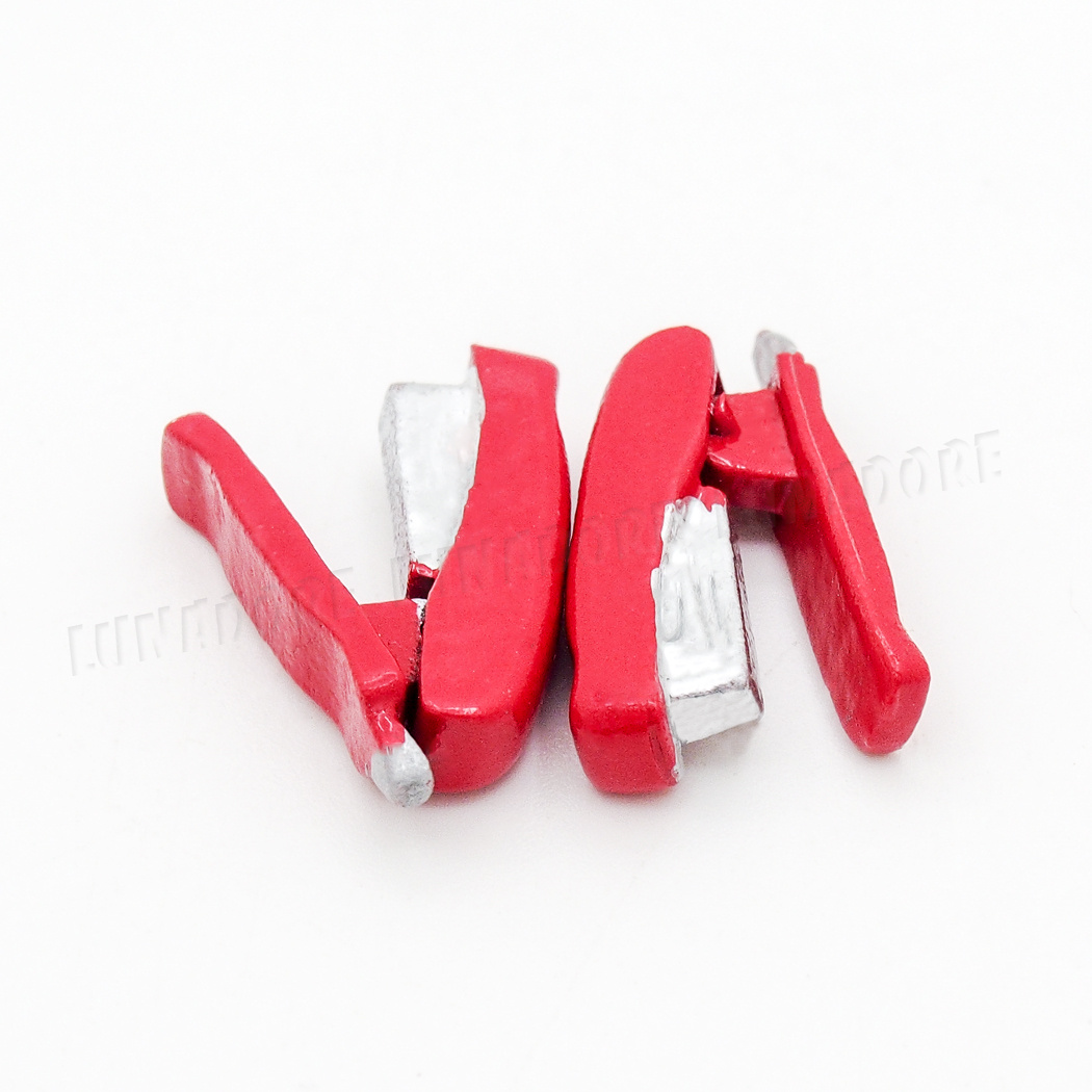 1:12 Dollhouse Metal Stapler Red Stationery Office School Tool Miniature Gift