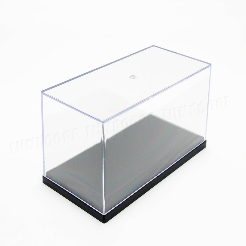 Clear Acrylic Plastic Display Box Case Protector Toys Dustproof Big Size 26cm