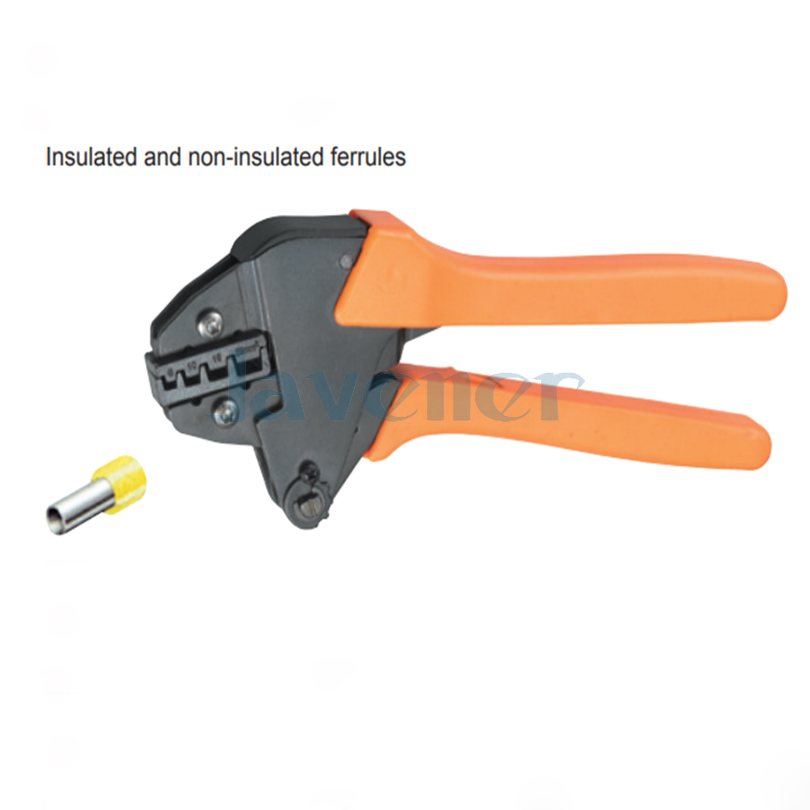 10-3AWG 6,10,16,25mm² Insulated and Non-insulated Ferrules Crimping Plier VH2