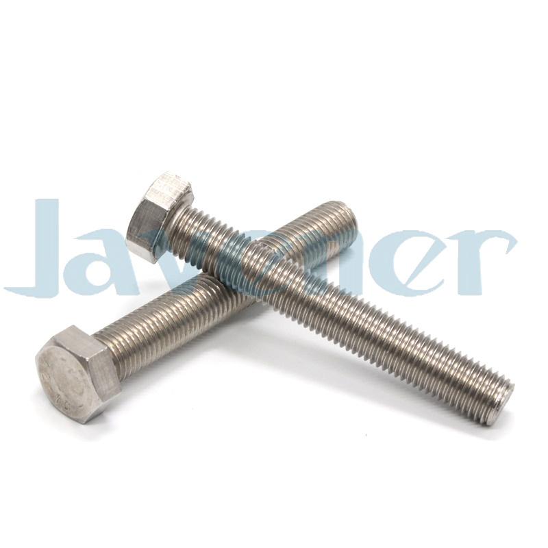 M6x8-100mm 304 Stainless Steel A2-70 Outer Hex Screws Hexagonal Bolts DIN933