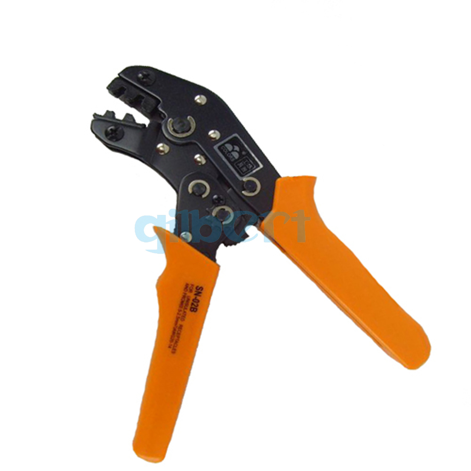 US HSC816-4 Crimping Pliers 4-16mm² Insulated Wire End Sleeve Ratchet Clamp Tool